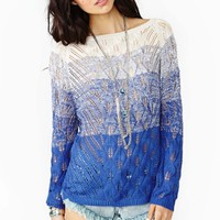 Electric Dusk Knit - Blue