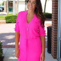Show Stopper Dress - Pink
