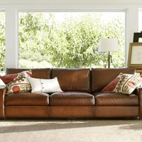 TURNER LEATHER SOFA