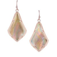 Alex Earrings in Brown Pearl - Kendra Scott Jewelry
