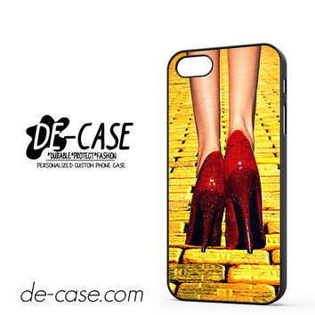Yellow Brick Road Dorothy Wizard Of Oz Inspired Cute Ruby Red DEAL-12122 Apple Phonecase Cover For Iphone 5 / Iphone 5S