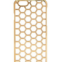 Transparent Honeycomb iPhone 6 Case