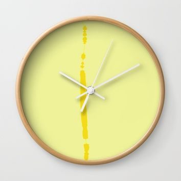 re_7 Wall Clock by Kristina Kerstner