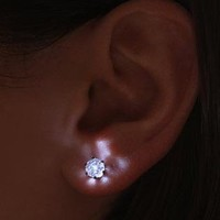 Light Up LED Crystal Earrings