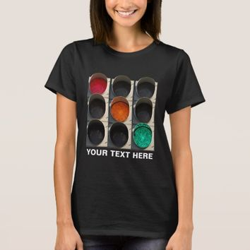 Traffic lights black T-Shirt