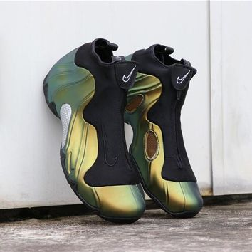 "Nike Air Flightposite Solo Slide ""Metallic Gold"" - Best Deal Online"