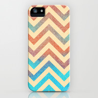 Chevronia XVII iPhone & iPod Case by Rain Carnival