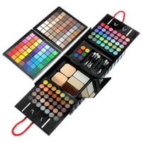 177 Color Pro Makeup Set Eye Shadow Blush Lipgloss Brow Shader Concealer Palette Eyeshadow Gel Brushes Beauty Kit