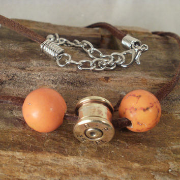 Bullet Casing Jewelry Bullet Necklace by ShellsNStuff on Etsy