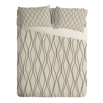 Heather Dutton Fuge Stone Sheet Set Lightweight