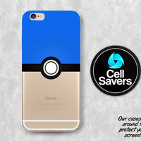 Mystic Pokeball iPhone 6s Case iPhone 6 Case iPhone 6 Plus iPhone 6s Plus iPhone 5c iPhone 5 iPhone SE Case Pokemon Go Blue Team Pokeball