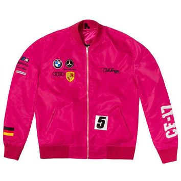 ONETOW Club Foreign Germany Racing Jacket Pink