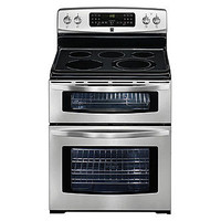 Kenmore 6.6 cu. ft. Double-Oven Electric Range w/ Convection - Stainless Steel