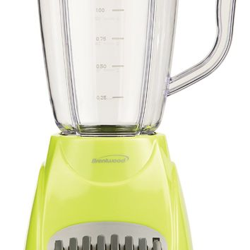 Brentwood JB-220G 12-Speed Blender, 1.5-Liter, Lime Green
