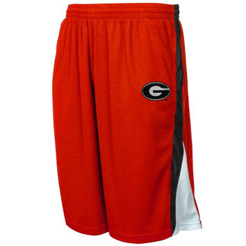 Georgia Bulldogs Team Training Shorts - Red