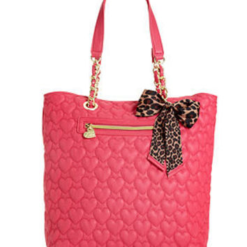 Betsey Johnson Handbag, Quilted Tote - Handbags & Accessories - Macy's