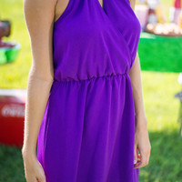 Back By Midnight Dress, Purple