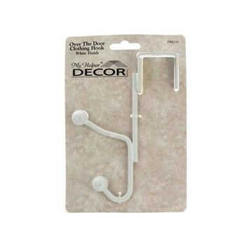 White Over the Door Clothing Hook ( Case of 54 )