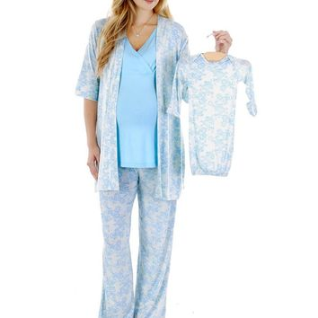 Analise 5-Piece PJ & Baby Set