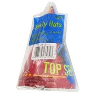 Top Secret Agent Party Hats - Set of 8