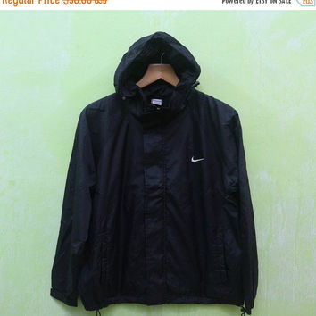 15% SALES Vintage Nike Logo Sport Sweater Logo Trainer Hooded Windbreaker Jacket