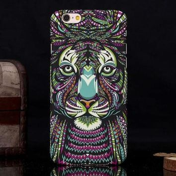 Aztec Tiger iPhone Case