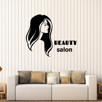 Vinyl Wall Decal Beauty Salon Spa Woman Girl Style Stickers Unique Gift (579ig)