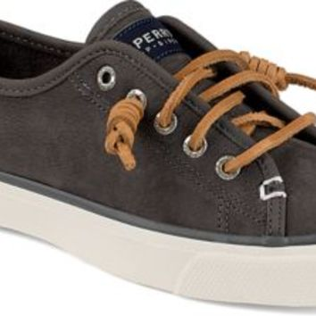 Sperry Top-Sider Seacoast Washable Sneaker Graphite, Size 9M  Women's Shoes