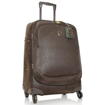 Bric's Designer Travel Bags Life - Micro-Suede Medium Trolley with Spinners