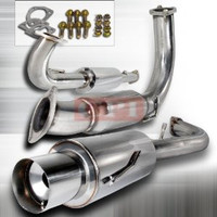 MITSUBISHI 1995-1999 ECLIPSE TURBO N1 CAT-BACK EXHAUST 70 mm inlet Performance