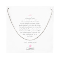 Sparkle Chain Choker Necklace, Sterling Silver | Dogeared