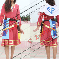 Princess Zelda - Zelda Skyward Sword Cosplay Costume