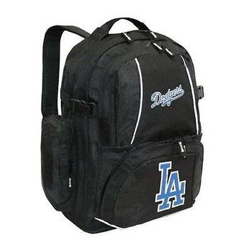 Los Angeles Dodgers MLB Trooper Backpack By Concept One NEW 3 COMPARTMENTS