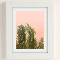 Wilder California Golden Palm Tree Art Print
