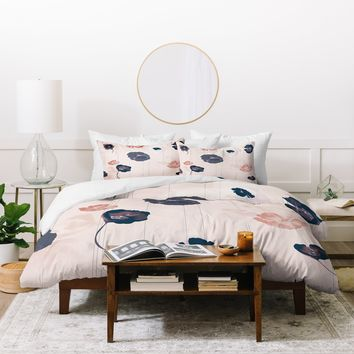 Khristian A Howell Mademoiselle In Pink Duvet Cover