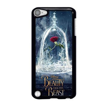 BEAUTY AND THE BEAST ROSE IN GLASS iPod Touch 5 Case Cover