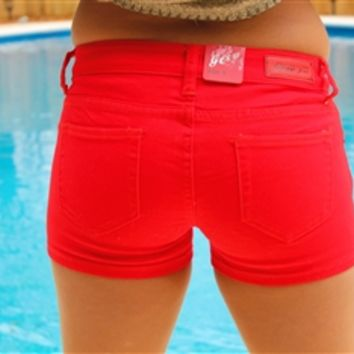 Southern Favorite Shorts - Red