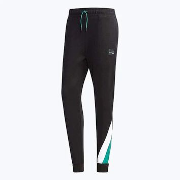 Adidas clover trousers pants pants black(green / white bottom)