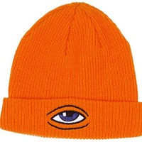 Toy Machine Skateboards Toy Machine Sect Eye Dock Beanie - Orange