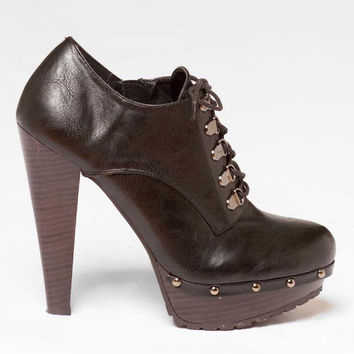 SAYDIE STUDDED BOOTIE