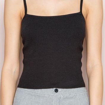 Marley Knit Tank - Tanks & Halters - Tops - Clothing