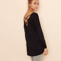 Tunic with Strappy Back