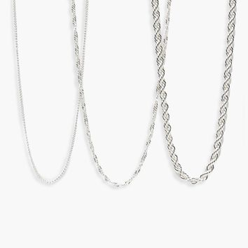 Laura Chunky Layered Chain Necklace | Boohoo