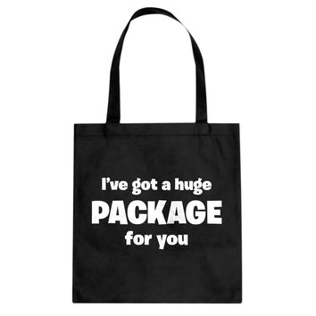 I've got a huge package for you. Cotton Canvas Tote Bag