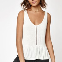 Rhythm My Peplum Top at PacSun.com