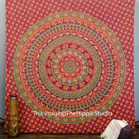 Hippie Tapestries, Tapestry Wall Hanging, Bohemian Tapestries, Indian Mandala Tapestries, Wall Art, Dorm Decor Tapestries, Hippe Tapestry