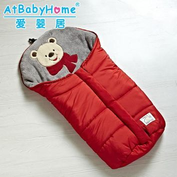 baby sleeping bag winter Solid baby sleep sack Unisex envelopes for newborns baby sleeping bag