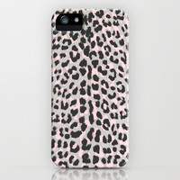 LEO CHEETAH PRINT iPhone & iPod Case by Vasare Nar