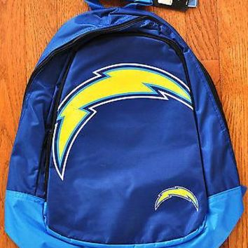 San Diego Chargers BackPack / Back Pack Book Bag NEW - TEAM COLORS BIG LOGO