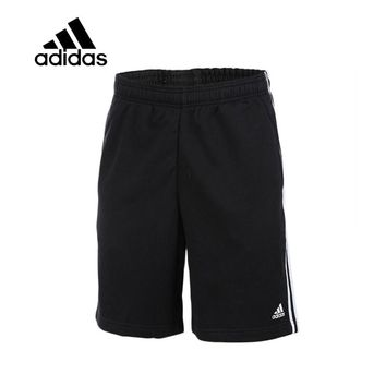 Original New Arrival Authentic Adidas Men Trainning Exercise Running Shorts Male Black Leisure Sportswear Breathable Quick Dry
